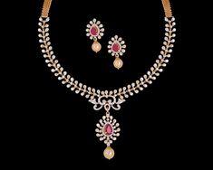 Diamond Necklaces / Chokers - Diamond Jewelry Diamond Necklaces / Chokers (NKDIA00001) at USD 5,643.32