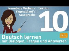 Learn German through dialogues / Lesson 18 / going out / Dates / reflexive verbs Reflexive Verben, Learn German, Online Courses, Going Out, Youtube, Family Guy, Dating, Learning, Free