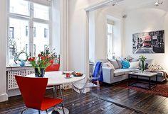 petit appartement suedois moderne