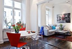 Tu blog de Decoracion: Mini apartamento en Goteberge