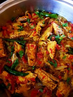 Curry Recipes, Fish Recipes, South African Recipes, Ethnic Recipes, Fish Curry, Tasty, Yummy Food, Caribbean Recipes, Fried Onions