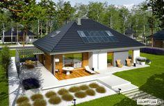 Projekty domów ARCHIPELAG - Astrid II G2