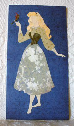 BRIAR ROSE - Sleeping Beauty Paper Princess Aurora Custom Art