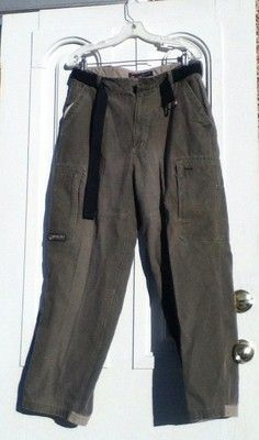 Super cool looking cargo Carpenter Pants by Bugle Boy Jean Company