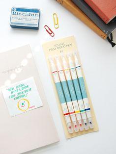 Iconic 2 Way Deco Pen Set