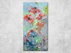 Olej na płótnie malowany techniką własną. rozmiar: **160 x 80cm** podobrazie bawełniane na drewnianych ramach Obraz malowany jest techniką własną, farbami olejnymi, które w swej szlachetności są...