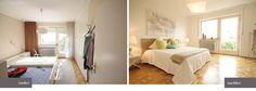 Home Staging Altbau Schlafzimmer