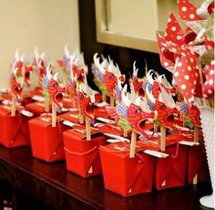 Chinese Party Decorations | ... great way to incorporate more color into your party, as well! Source