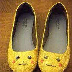 Pikachu Shoes!!!!!