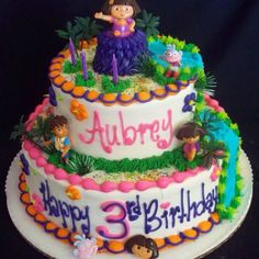 Cake Design Dora L Exploratrice : 1000+ images about Dora cake on Pinterest Dora cake ...