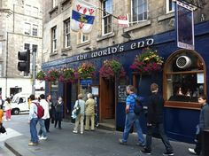 the world's end pub, edinburgh
