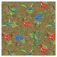 Wrapping Paper - Dinosaur $2 Kmart