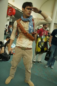 The Comic-Con 2012 Cosplay Gallery - Nathan Drake #uncharted