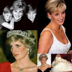 Princess Diana collage