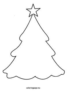 Free Pine Tree coloring pages (total of 17 trees plus a few more ...