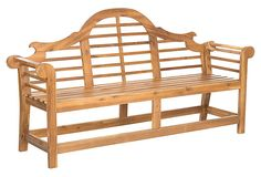"77"" Ascot Bench, Teak on OneKingsLane.com"