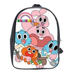 AMAZING WORLD OF GUMBALL GENUINE LEATHER XL SCHOOL BACKPACK $29.99