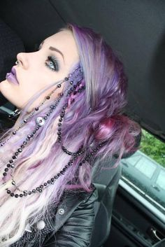 purple hair | Tumblr