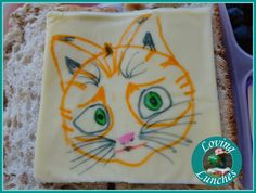 Thunder and the House of Magic Lunches cheese art