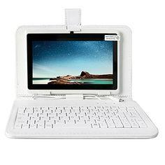 Yuntab Tablette 7 pouces 8 Go HD 1024 X 600 Android 4.4.2 KITKAT QUAD CORETablet PC Tablette Tactile WiFi Support 3D Jeux, Google Play…