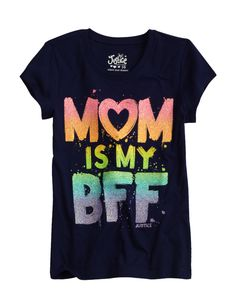 Mom Is My BFF Graphic Tee | Bffs And Faves | Graphic Tees | Shop Justice