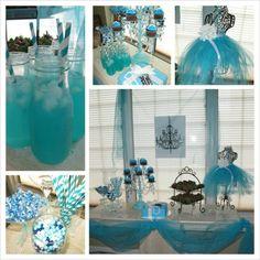 Breakfast at Tiffany theme party
