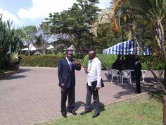 Congo Govt. rebel M23 'chat' in public