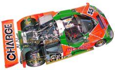 MAZDA 787b cutaway