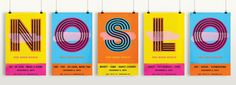 HOW International Design Awards Merit Winner: NOSLO 2015 Creative Team: Olson Joe Monnens, Andrew Voss, Paige Gregory, Gabrielle Goodbar Client: Olson Location: Minneapolis, MN #posters #signage