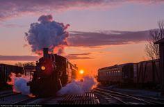 Strasburg Railroad Steam 2-6-0 #89, Strasburg, PA by Christopher Pollock
