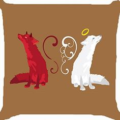 Cushion cover throw pillow case 18 inch red white fox ang... https://www.amazon.com/dp/B00YWU3PJM/ref=cm_sw_r_pi_dp_x_cYe5ybBAM57VY