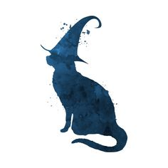 Shop Witch Cat cat t-shirts designed by TheJollyMarten as well as other cat merchandise at TeePublic. Horse Tattoo Design, Witchy Wallpaper, Black Cat Tattoos, Halloween Frames, Witch Tattoo, Witch Cat, Witch Decor, Witch Aesthetic, Illusion Art