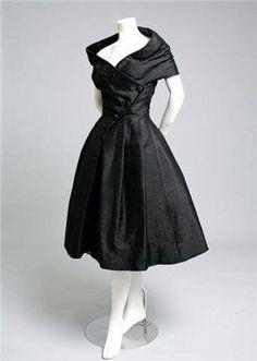 Little black 50's dress