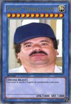"""Chapo """"tuneles locos"""" Guzman"""