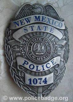 Badge Mexico State Police, via Flickr.