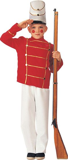 Deluxe Toy Soldier Costume for Boys - Party City