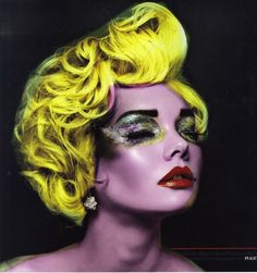 Beauty editorial featuring Ada Martini for Red Collector Magazine by Vincent Alvarez - Marilyn Tribute
