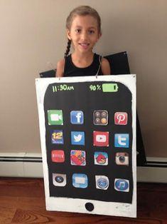 i phone costume diy make it yourself