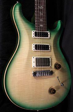 New Paul Reed Smith PRS Studio Guitar! Natural Green Burst , 2012 Experience | eBay