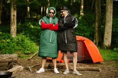 Don't leave home without it. One of the best investments one can make is the Poler Napsack. Part sleeping bag part sleeping bag dress and completely awesome! Canoe Camping, Camping And Hiking, Camping Stuff, Backpacking, Sleeping Bag, Canada Goose Jackets, Outdoor Gear, Blue Green, Raincoat