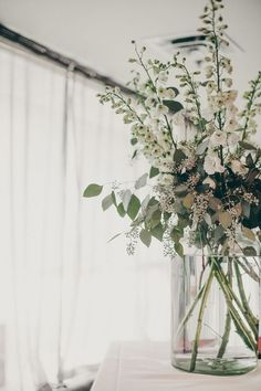 eucalyptus arrangement, photo by Christine Lim