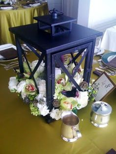 Wedding  Lantern Centerpieces