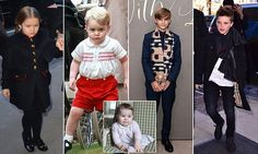 Harper, 4, beats Prince George to be crowned the most influential child celebrity | Daily Mail Online