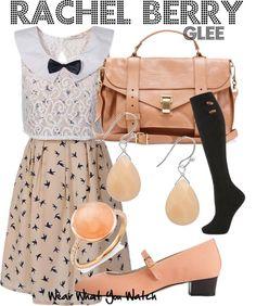 Inspired by Lea Michele as Rachel Berry on Glee.