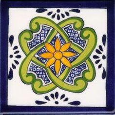 Talavera Design: Hand-Painted Ceramic Tile