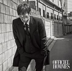 2015.05, L'Officiel Hommes, Ji Chang Wook