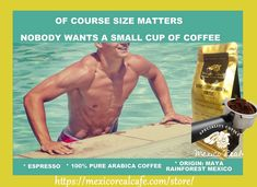 SIZE DOES MATTER, WE PREFER A LARGE ONE! El tamaño si importa! We are in Amazon UK, USA, FR, ES, CA, IT. 100% ARABICA ALTURA CHIAPAS COFFEE. GOURMET. SWEET & FRUITY FLAVOUR. Find Us on: https://mexicorealcafe.com/store/  Environmentally friendly farmed coffee 1 pack for £4.95, €5.60, US$6.63, CA$8.42  #boutique #gourmet #yummy #yatch #america #sanantonio #texas #dallas #california #lasvegas #nevada #newmexico #coffee #cafe #espresso #expresso #beach #summer #love #health #happines #wealth