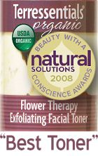 This company makes organic skin care! They totally rock and the stuff works!