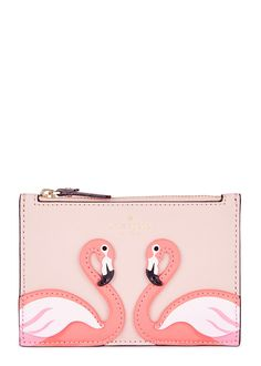 bf28cc74c26 By The Pool leather card holder - KATE SPADE NEW YORK Harvey Nichols, Zip  Around