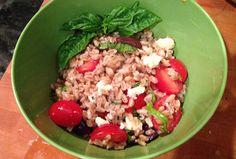 Sauce Magazine: Metro St. Louis - Gabriele Corcos And Debi Mazar's Mozzarella, Tomato And Farro Salad